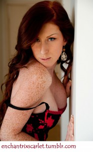 I'm Scarlet - For Cuckold Fantasies; Call Me at 1.800.601.6975
