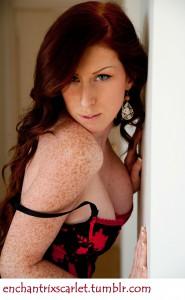 I'm Scarlet - For Cuckold Fantasies; Call Me at 1.800.601.6975