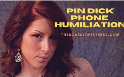 Pin Dick Phone Humiliation